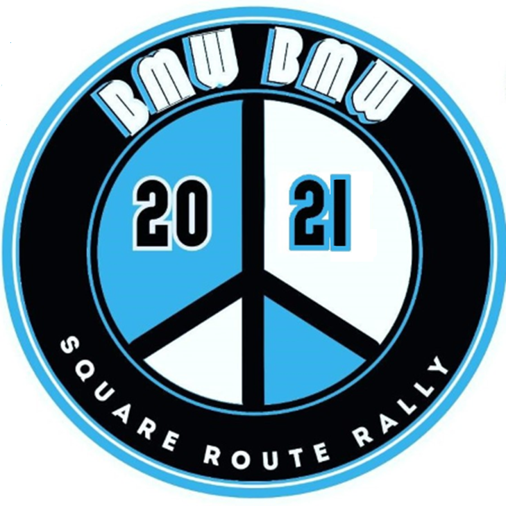 Logo for the 2021 Square Route Rally